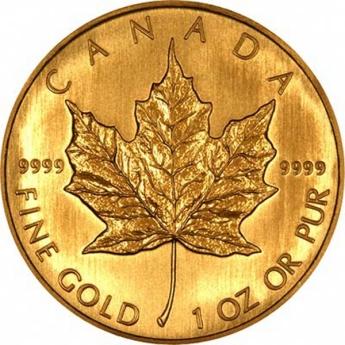 50 Dollari Maple Leaf