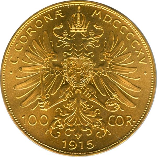 100 Corone 1915