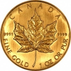 50 Dollari Maple Leaf