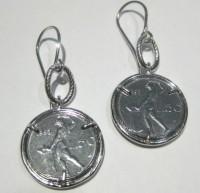 orecchini numismatica